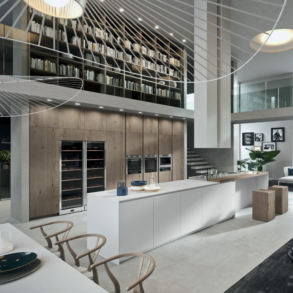 Eagle Villas Mutfak İç Mekan Tasarımı