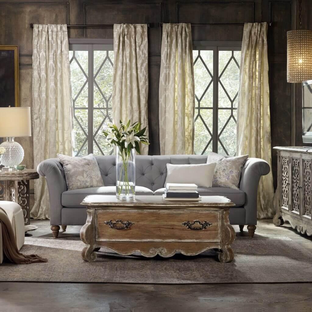 Oturma Odası İç Konsept Tasarımı